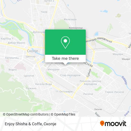 Enjoy Shisha & Coffe map
