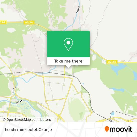 ho shi min - butel map