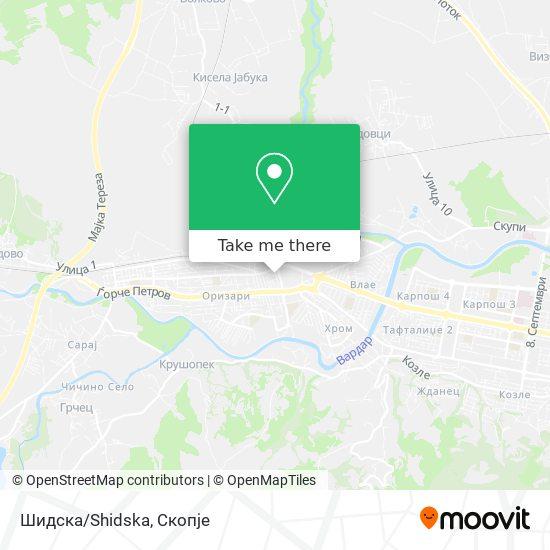 Шидска/Shidska map