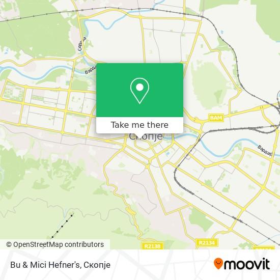 Bu & Mici Hefner's map