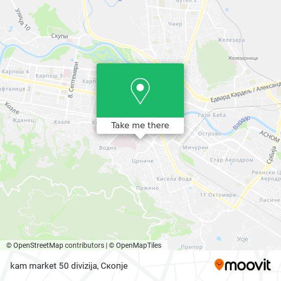 kam market 50 divizija map