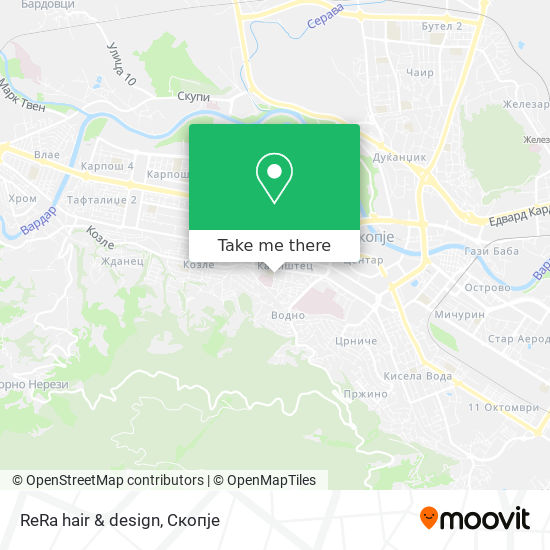 ReRa hair & design map