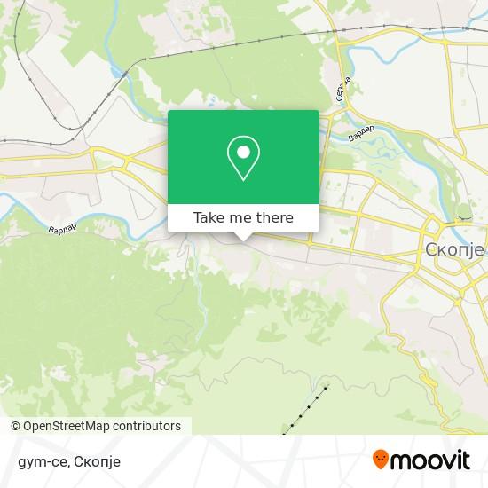 gym-ce map