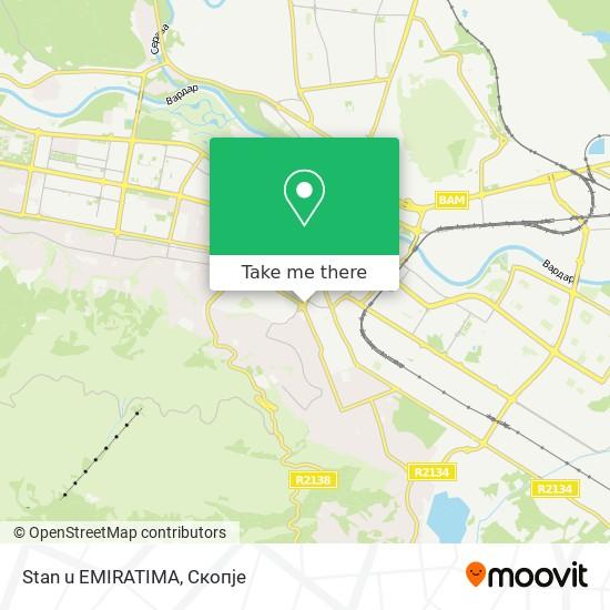 Stan u EMIRATIMA map