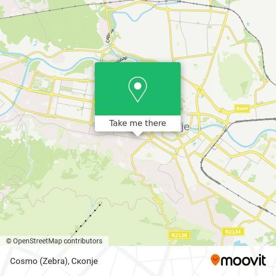 Cosmo (Zebra) map