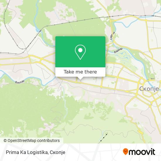 Prima Ka Logistika map
