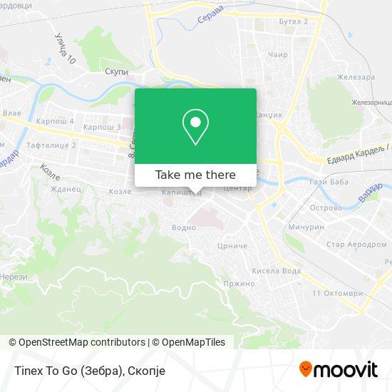 Tinex To Go (Зебра) map