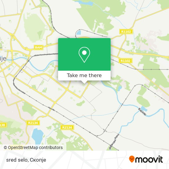 sred selo map