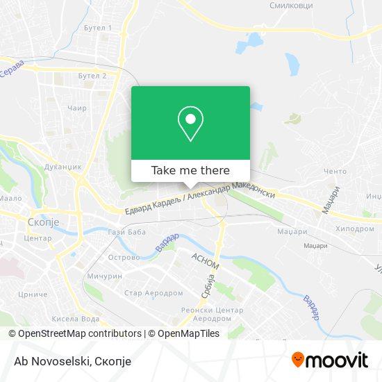 Ab Novoselski map