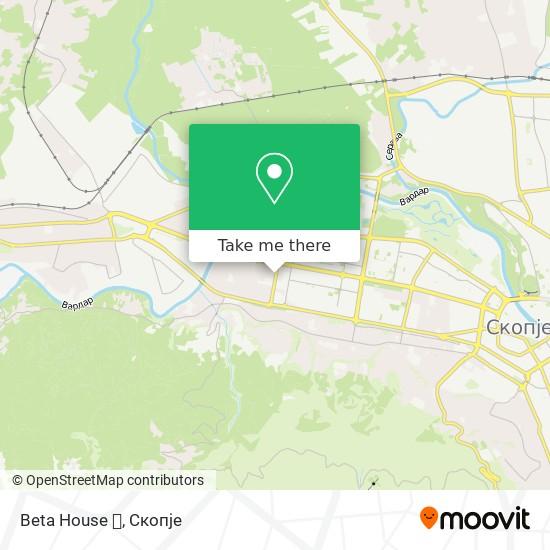 Beta House 🎉 map