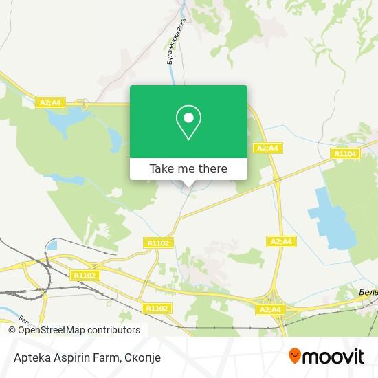 Apteka Aspirin Farm map