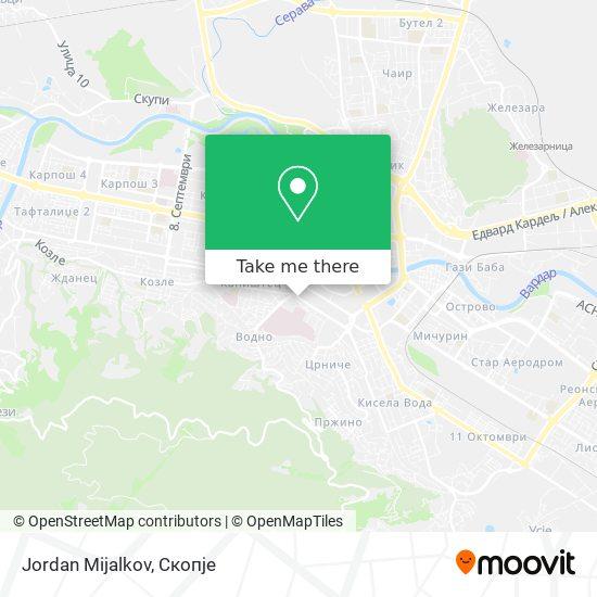 Jordan Mijalkov map