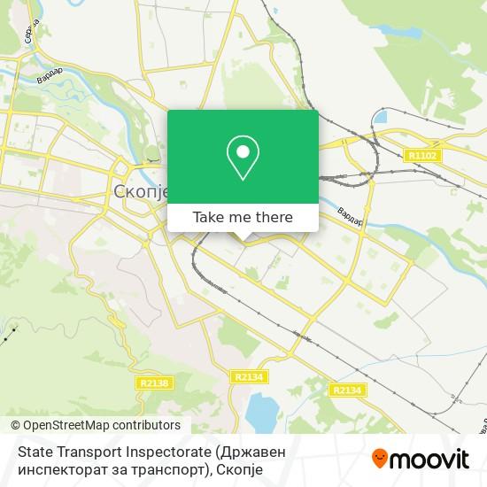 State Transport Inspectorate (Државен инспекторат за транспорт) map