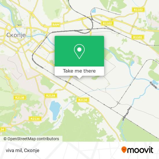 viva mil map