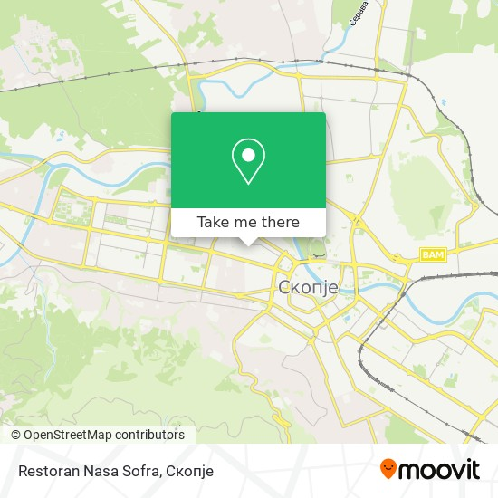 Restoran Nasa Sofra map