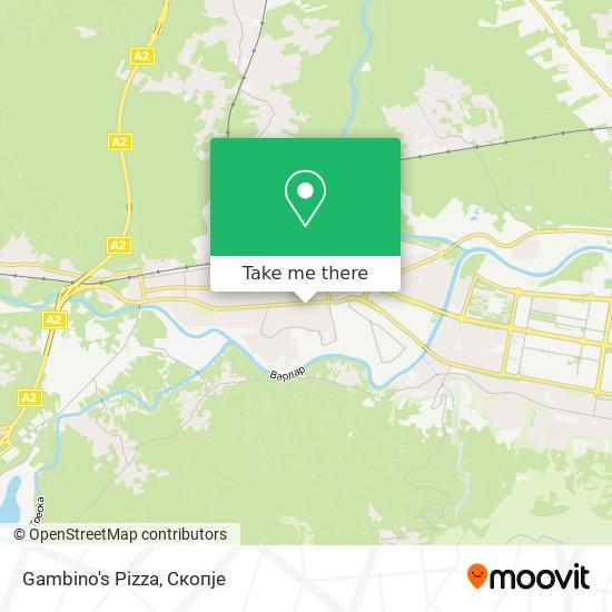 Gambino's Pizza map