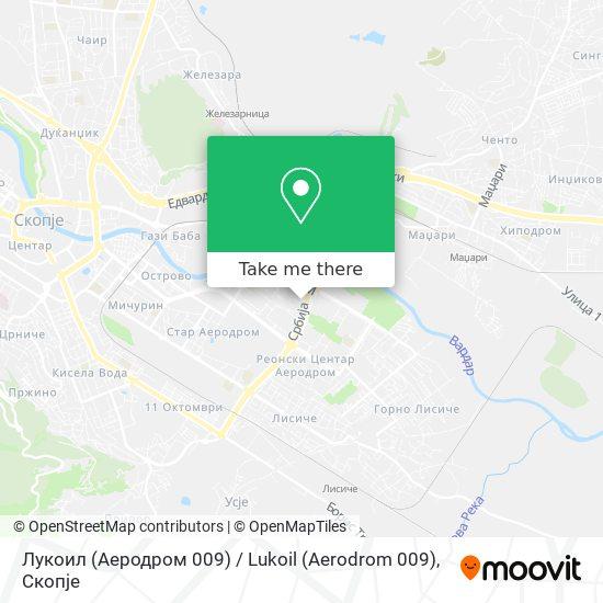 Лукоил (Аеродром 009) / Lukoil (Aerodrom 009) map
