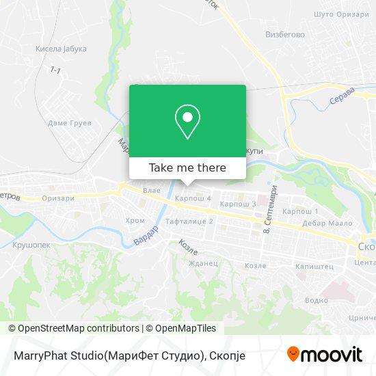 MarryPhat Studio(МариФет Студио) map