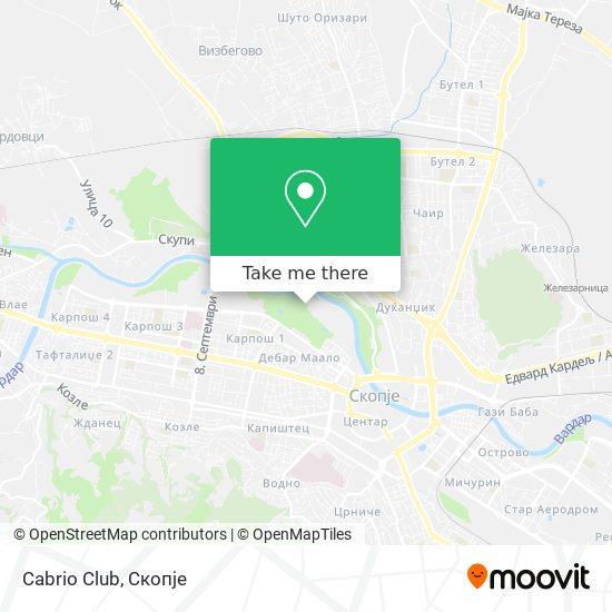 Cabrio Club map