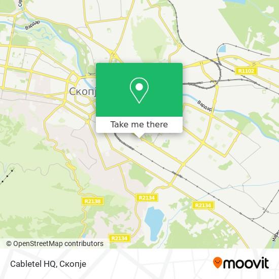 Cabletel HQ map