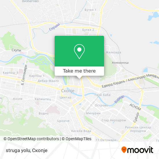 struga yolu map