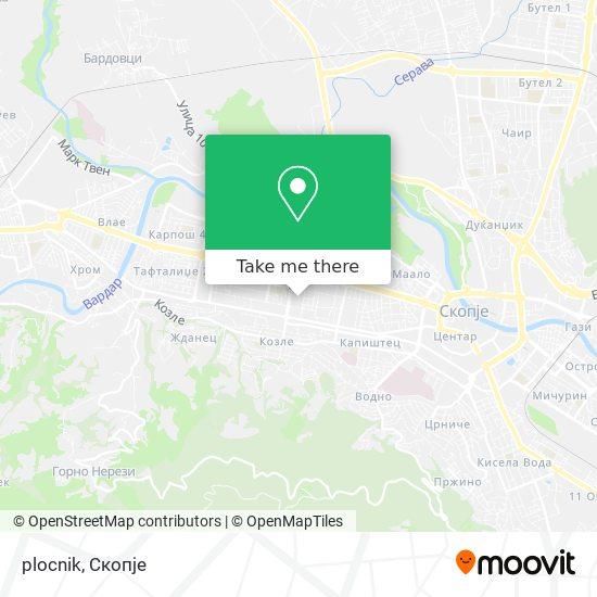plocnik map