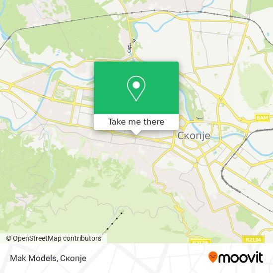 Mak Models map