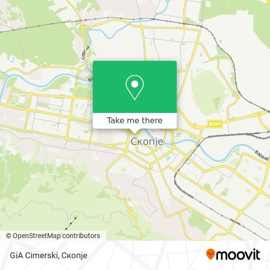 GiA Cimerski map