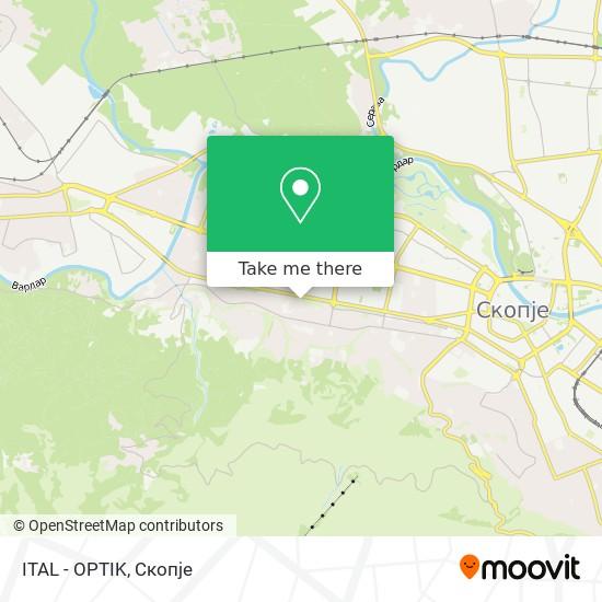 ITAL - OPTIK map