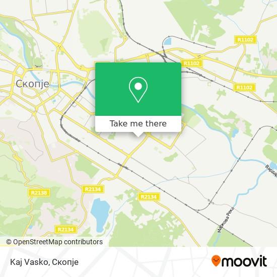 Kaj Vasko map