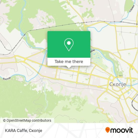 KARA Caffe map