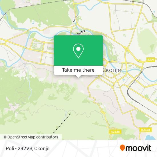 Poli - 292VS map