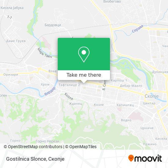 Gostilnica Slonce map