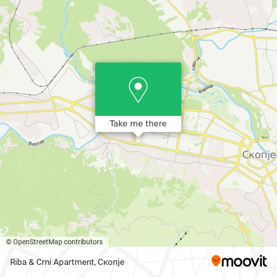 Riba & Crni Apartment map