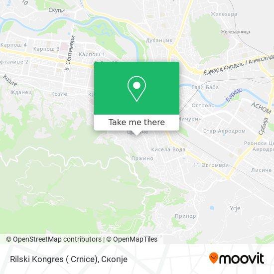 Rilski Kongres ( Crnice) map