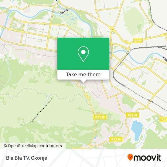 Bla Bla TV map