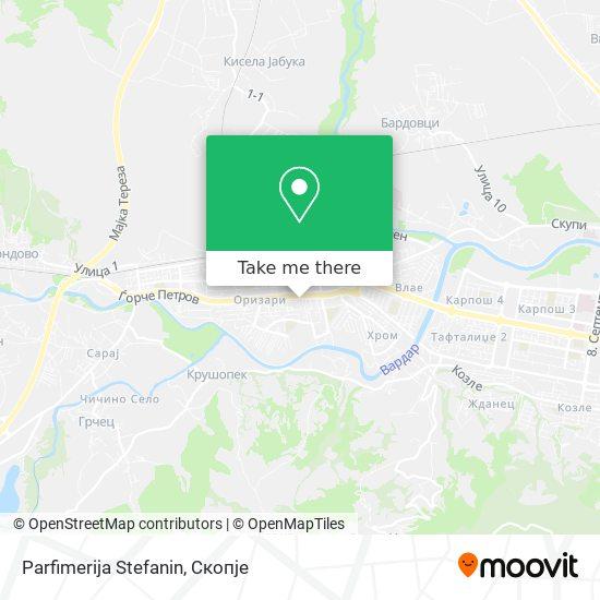 Parfimerija Stefanin map