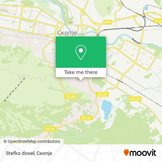 Stefko dooel map