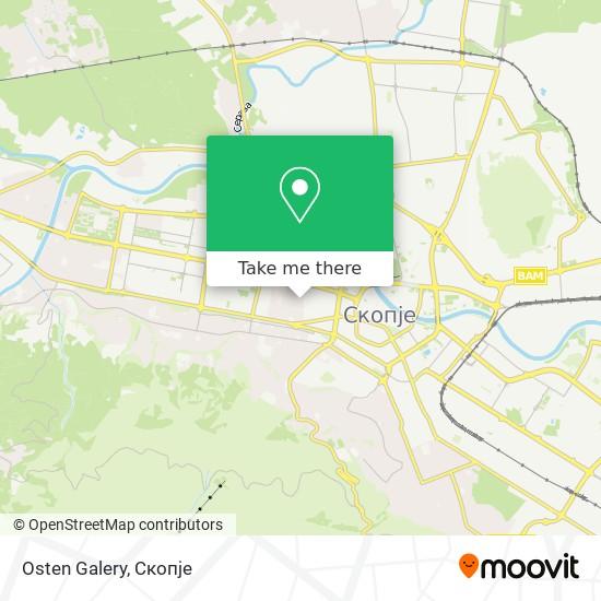 Osten Galery map