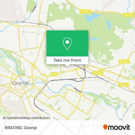 BRATING map