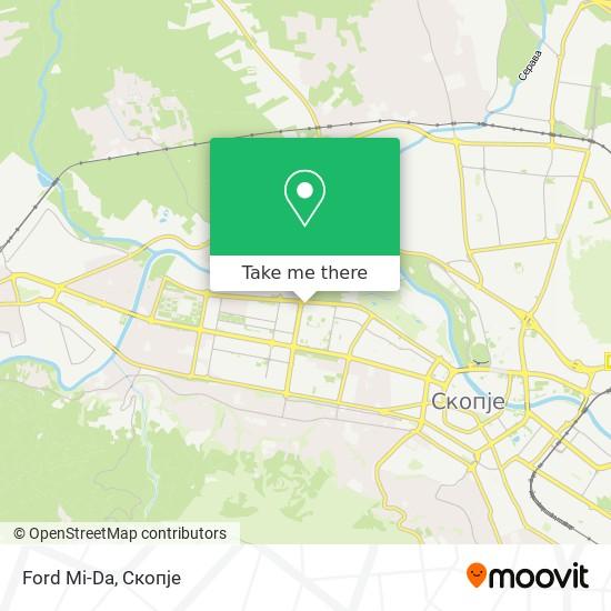 Ford Mi-Da map