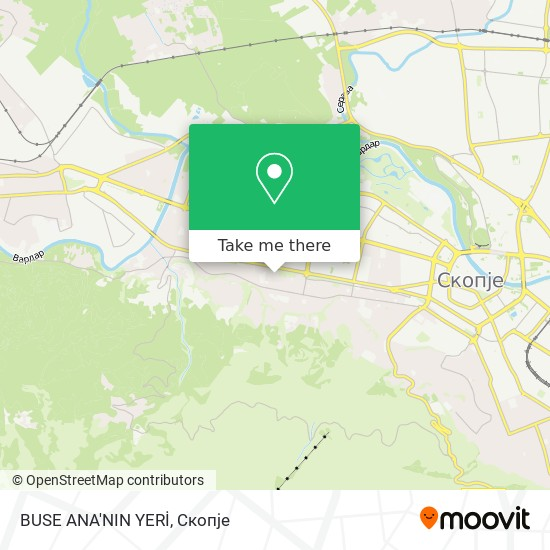 BUSE ANA'NIN YERİ map
