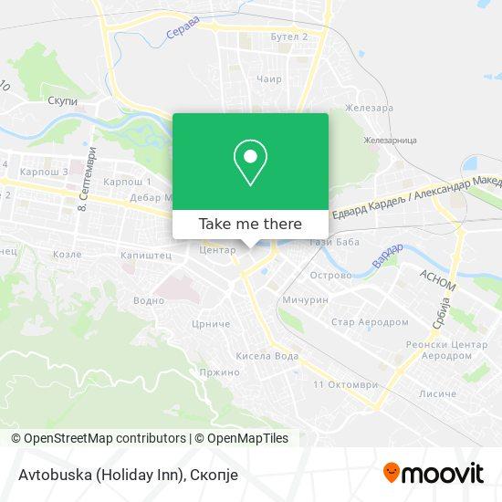 Avtobuska (Holiday Inn) map