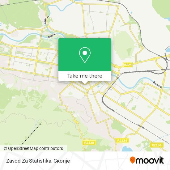 Zavod Za Statistika map