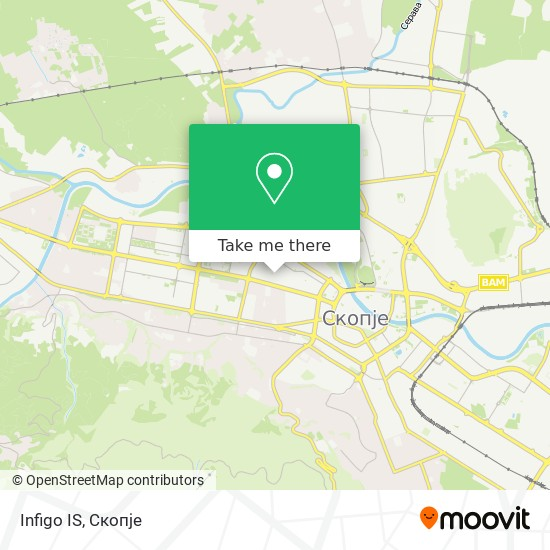 Infigo IS map