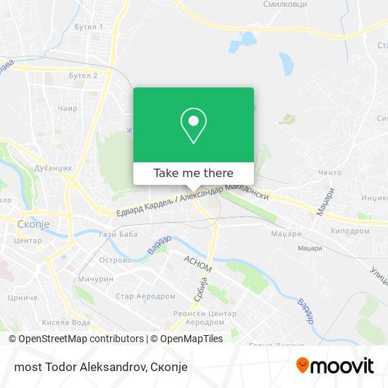 most Todor Aleksandrov map