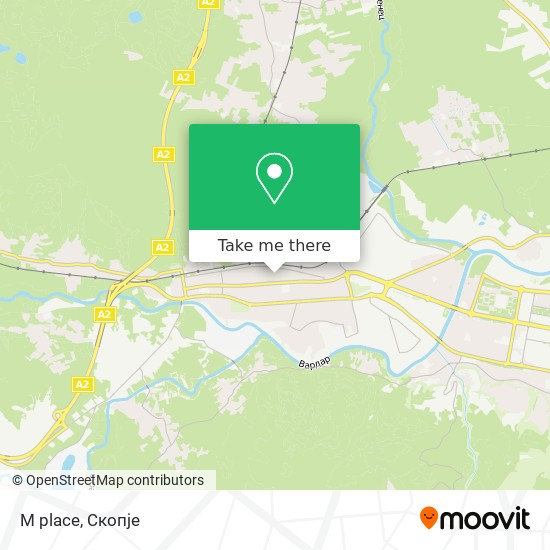 M place map