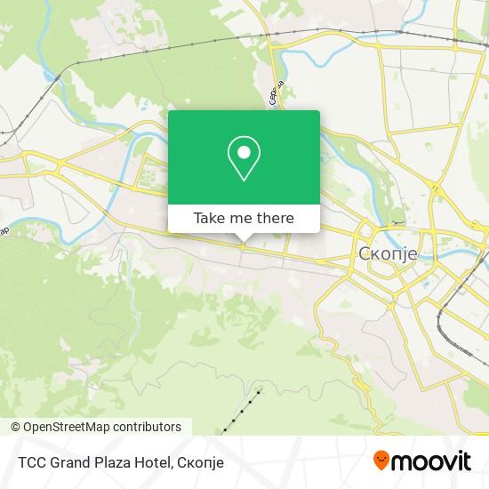 TCC Grand Plaza Hotel map