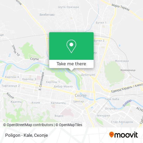Poligon - Kale map