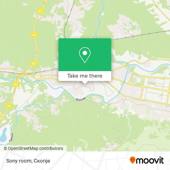 Sony room map